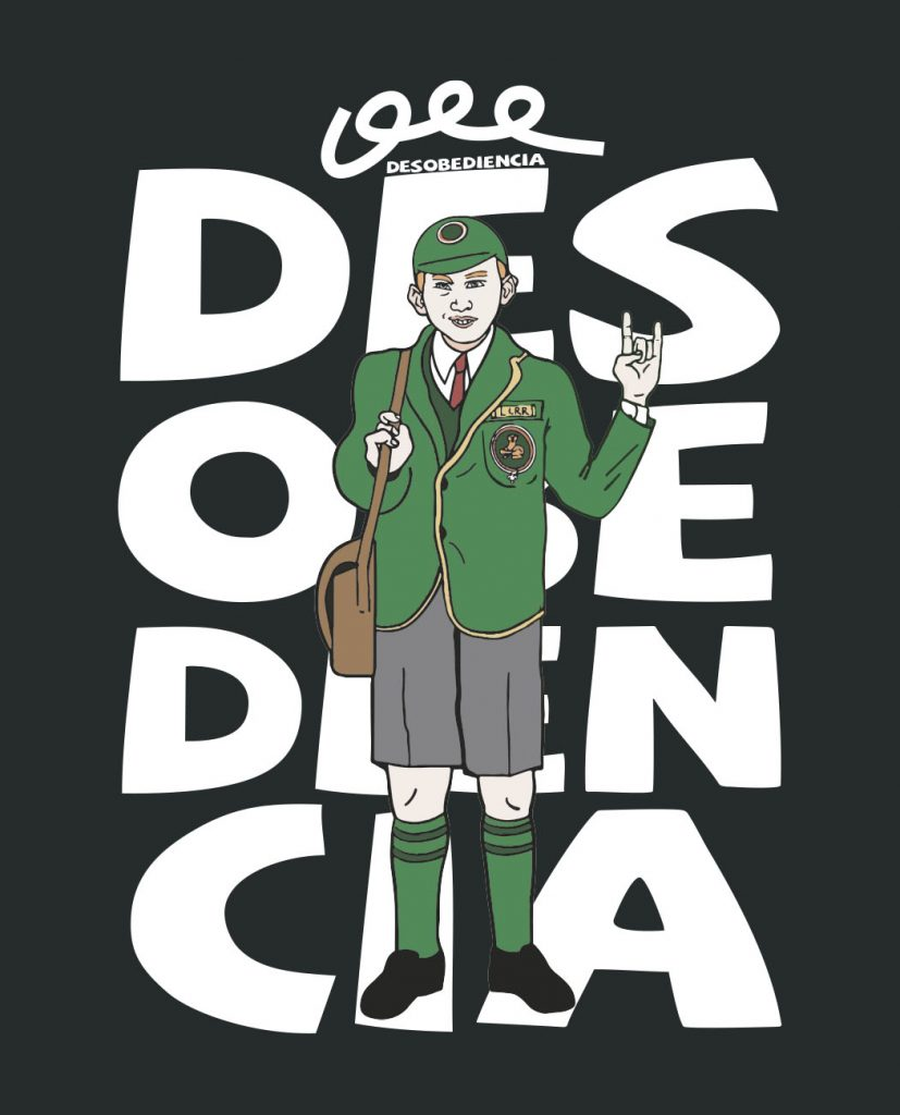 camiseta unisex Bitxobambam desobediencia