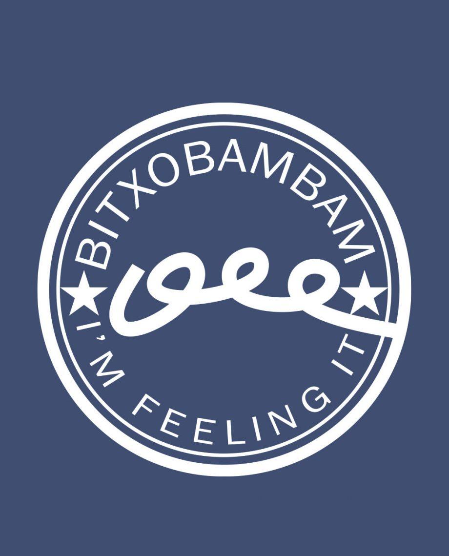 camiseta unisex Bitxobambam logo