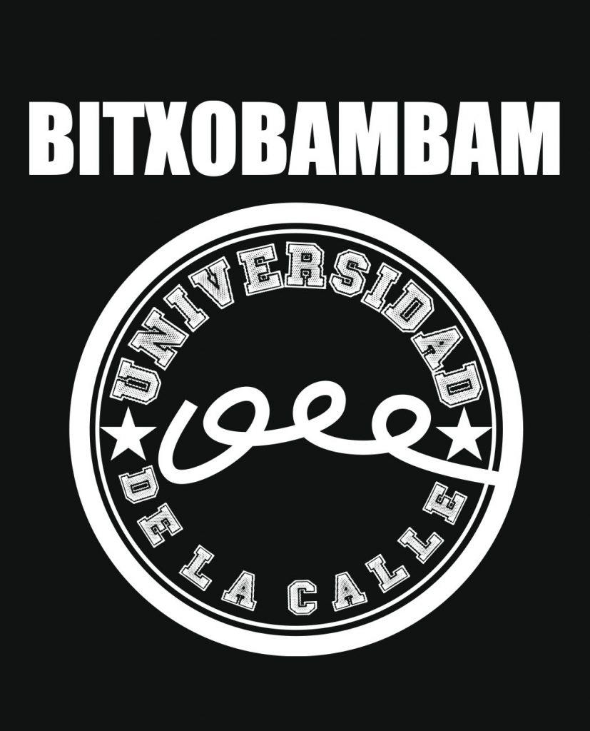 camiseta unisex Bitxobambam universidad de la calle